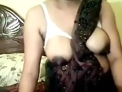 Desi bhabhi goes hard and masturbating on Web Camera